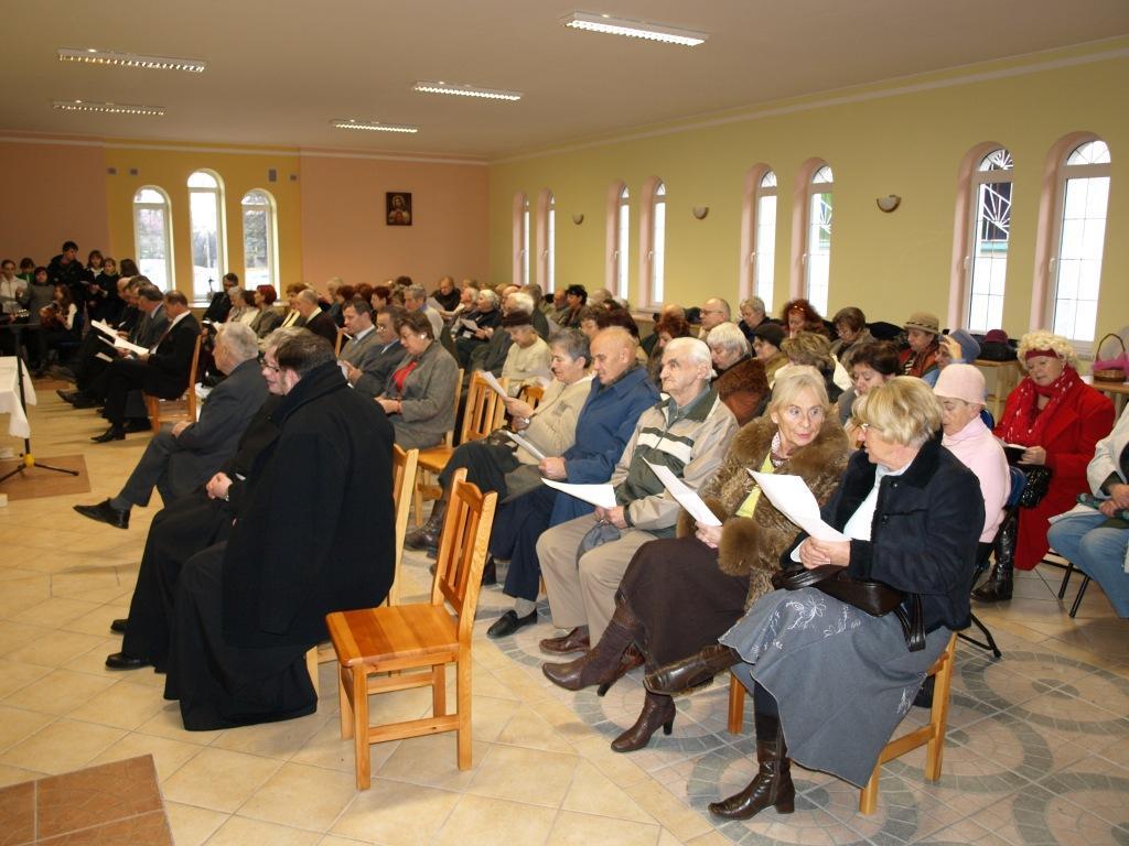 Inauguracja I roku działalności – XII'2008