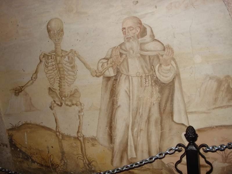 07 Freski w podziemiach kościoła