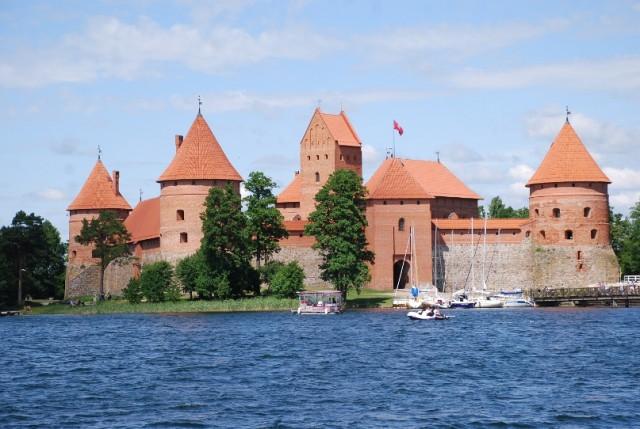 13 Zamek w Trokach