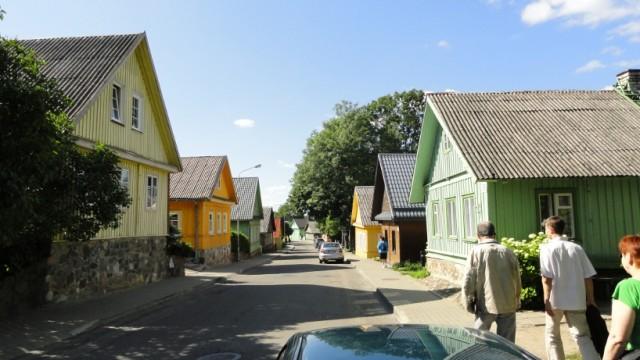 14 Troki - domki Karaimów