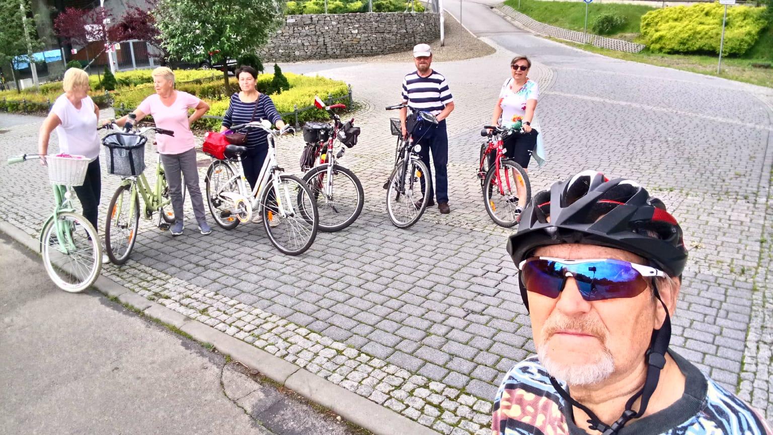 Sekcja rowerowa w akcji-czerwiec 2020r